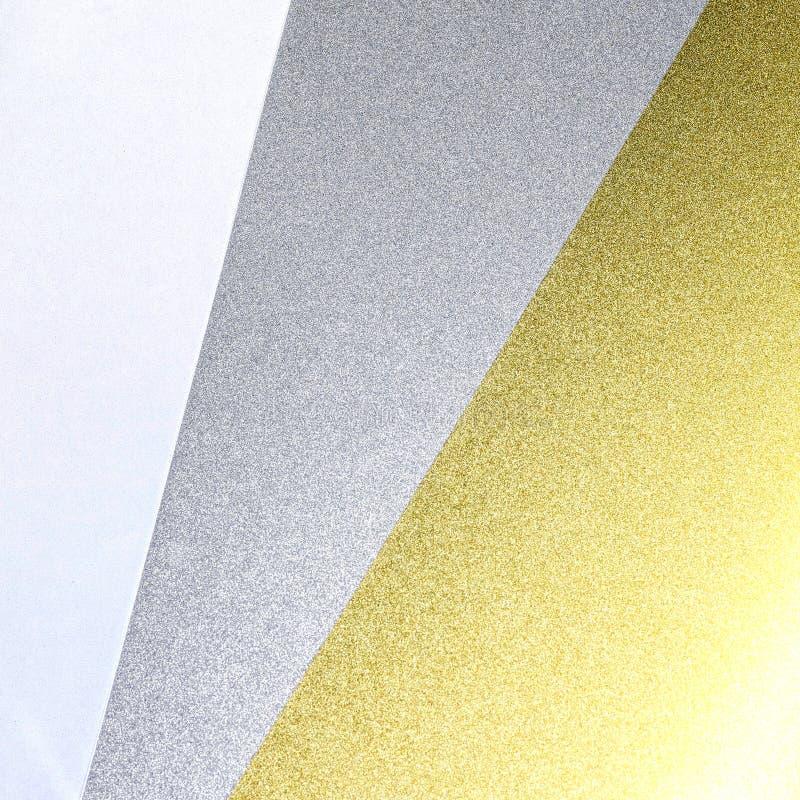 Glanzende document textuurachtergrond Schitter materiaal royalty-vrije stock afbeeldingen