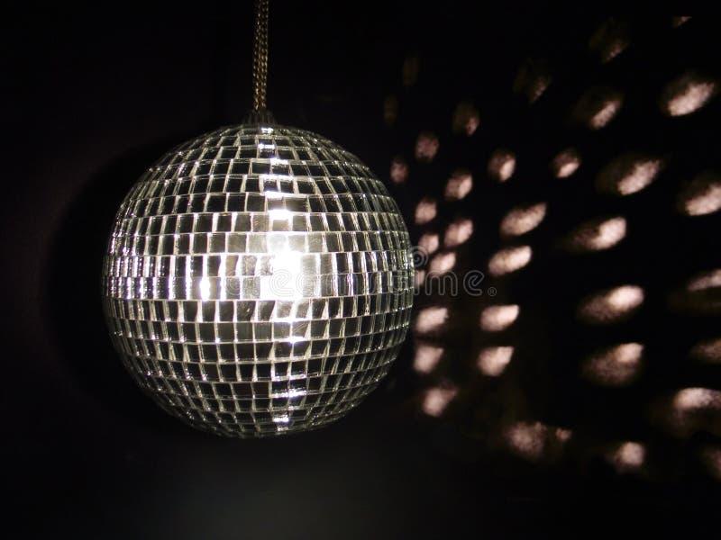 Glanzende glanzende disco royalty-vrije stock afbeeldingen
