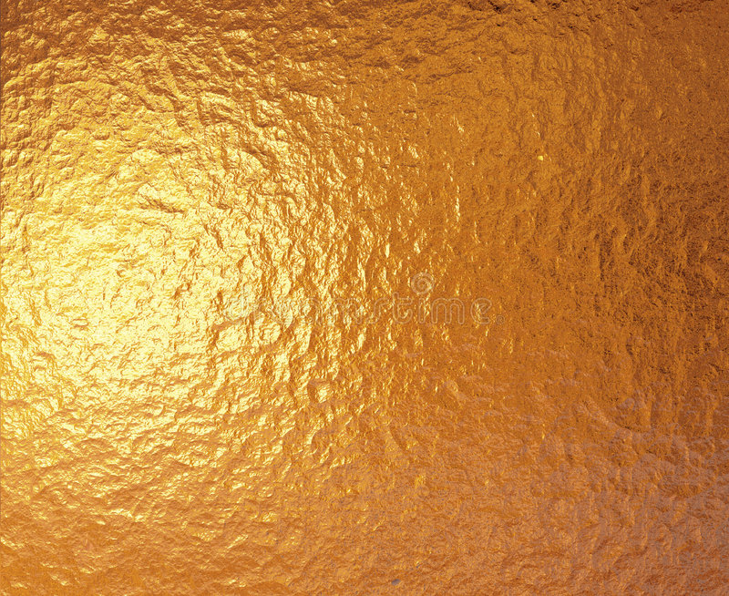 glanzende Gouden folieachtergrond   royalty-vrije illustratie