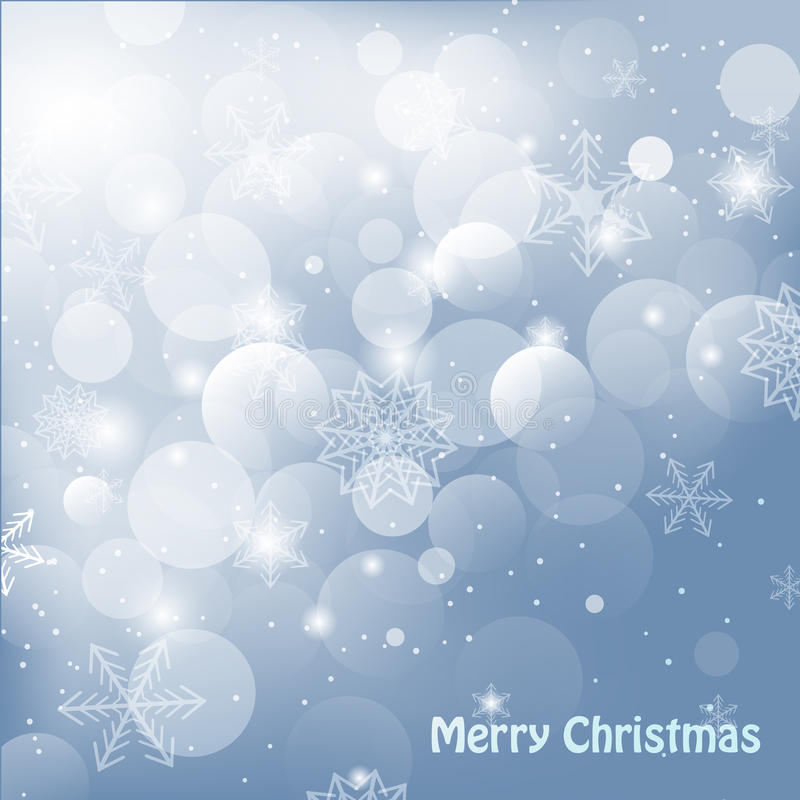 Glanzende Kerstmisachtergrond vector illustratie