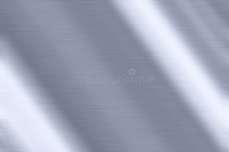 Glanzende metaalachtergrond stock foto