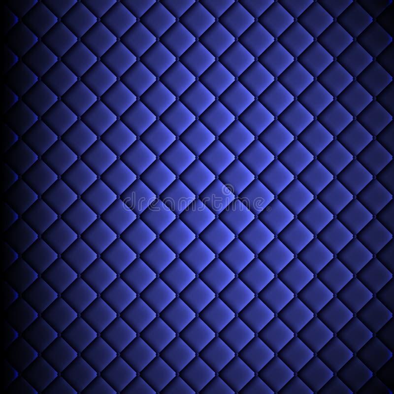 Glanzende stof, gegolfte textuur, blauwe kleurenzijde, kleurrijke uitstekende stijlachtergrond royalty-vrije illustratie