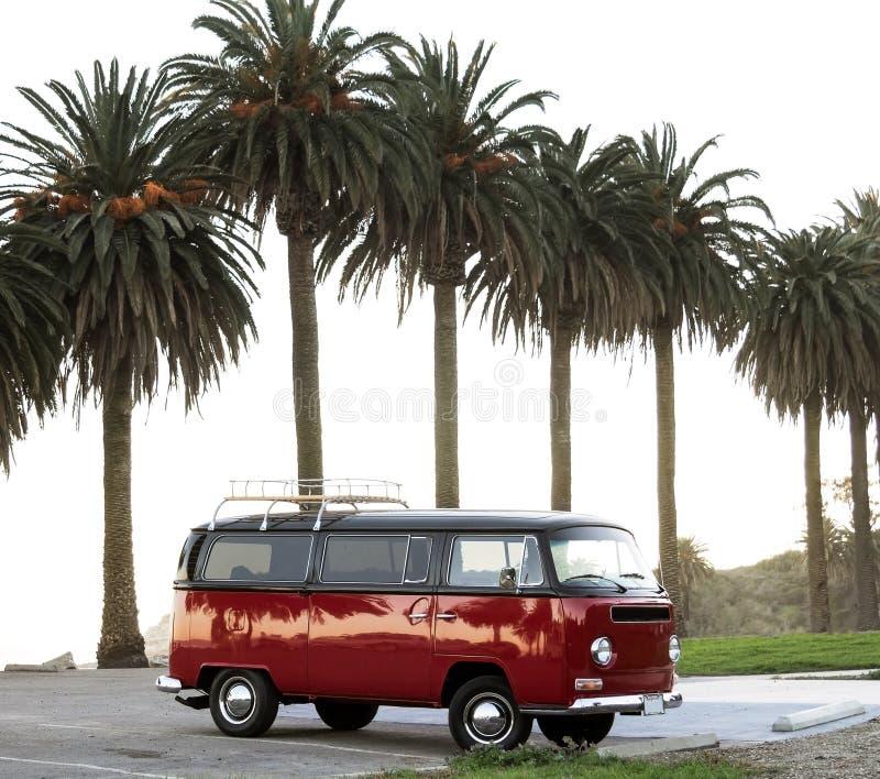 Glanzende surferbus royalty-vrije stock foto