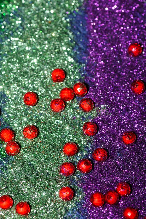 Download Glare stock image. Image of holiday, green, beads, foil - 6728529