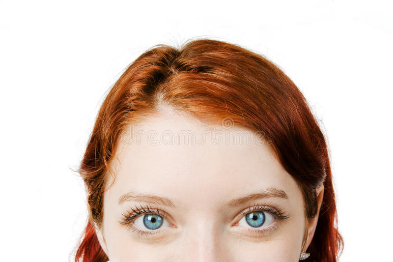 Download Glare stock image. Image of green, redheaded, woman, female - 9888315