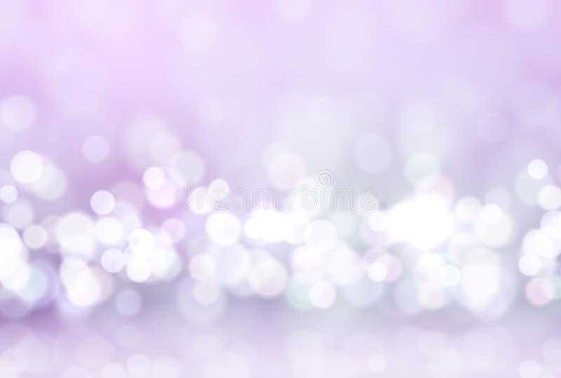 Glare lights bokeh, for holiday background. Magic effect sparkle light. royalty free illustration