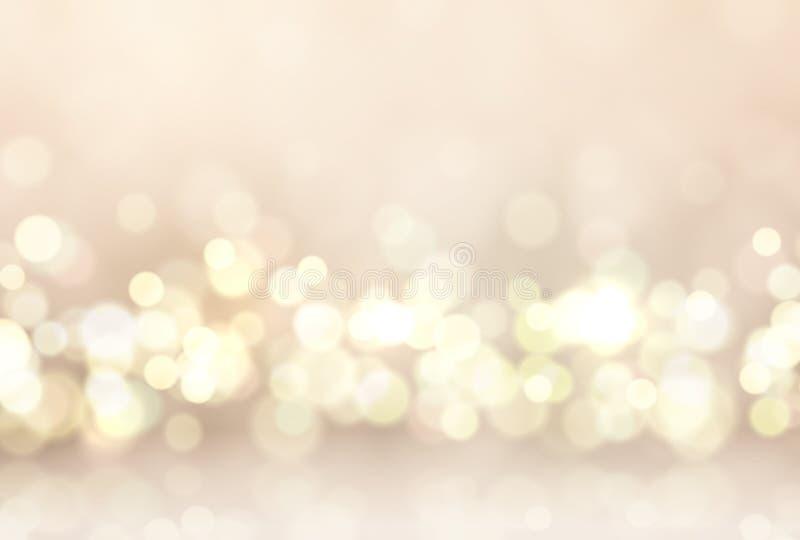 Glare lights bokeh, for holiday background. Magic effect sparkle light. Soft glare, beautiful decoration element vector illustration
