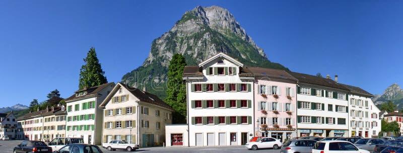 Glarus em Suíça fotos de stock royalty free