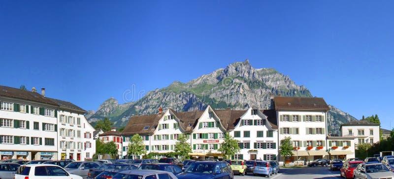 Glarus em Suíça fotos de stock
