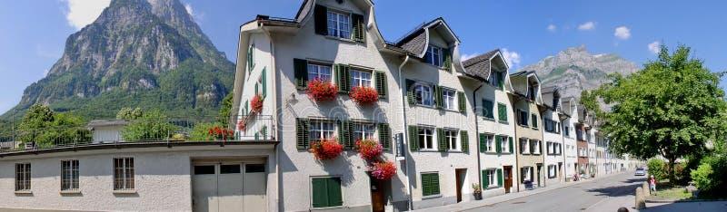 Glarus em Suíça imagens de stock