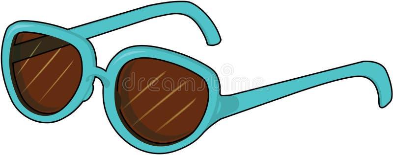 glasögon stock illustrationer