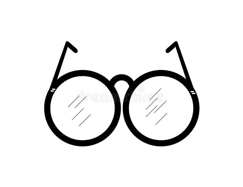 glasögon vektor illustrationer
