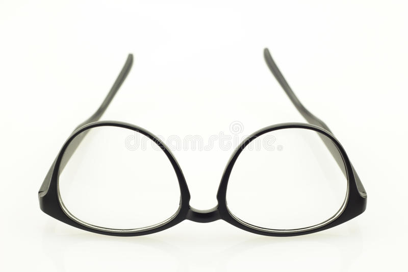 glasögon isolerade white arkivbilder