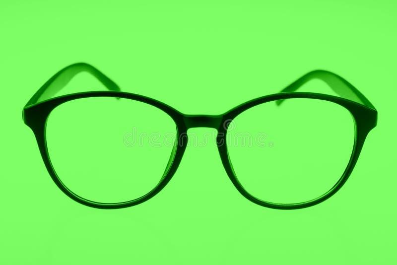 Glasögon som isoleras på gräsplan royaltyfri fotografi