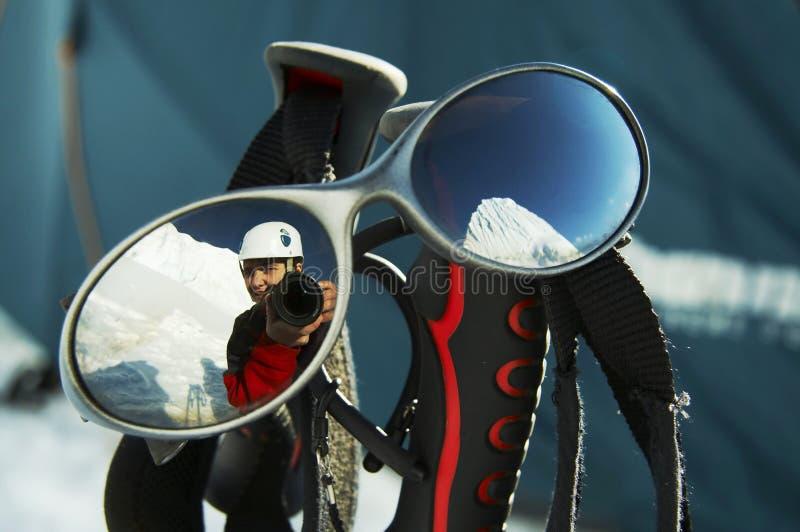 glasögonsun royaltyfri fotografi