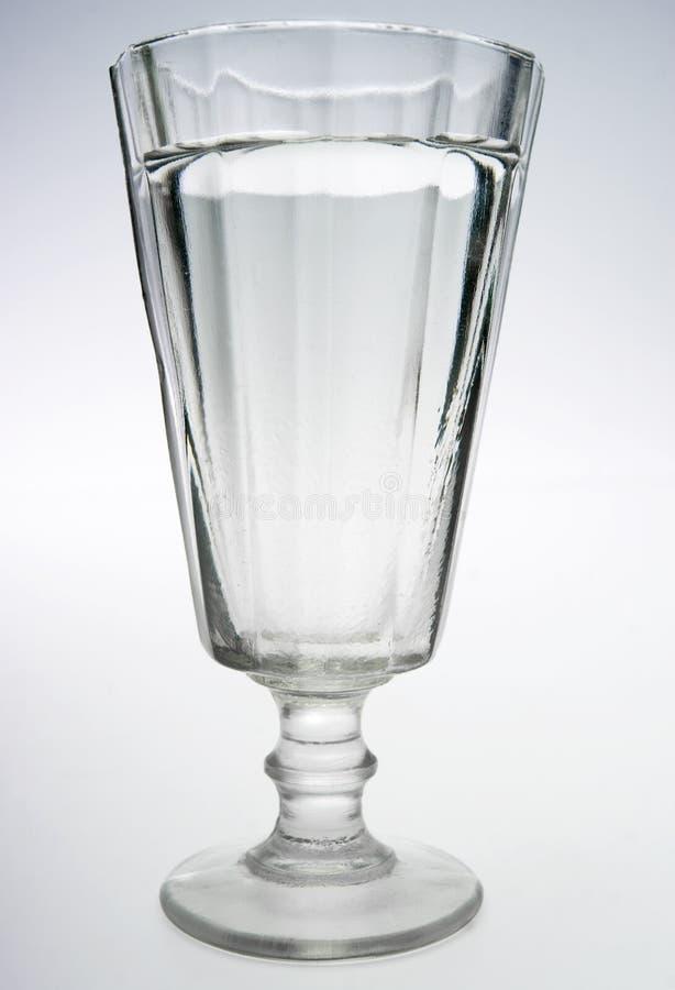 glas伏特加酒 免版税图库摄影