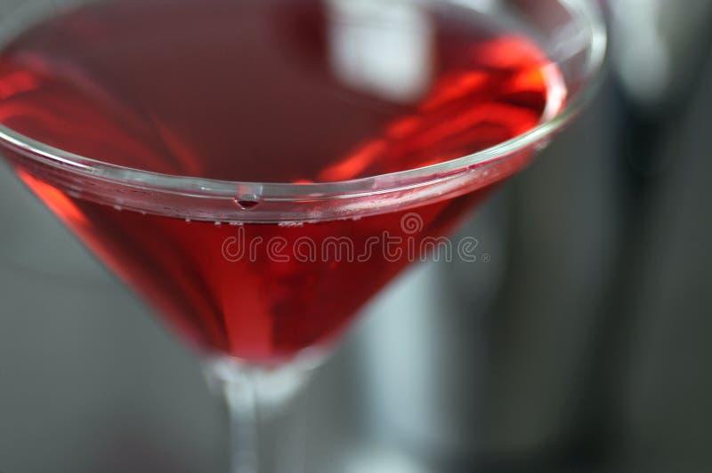Glas 2 van de cocktail stock afbeelding