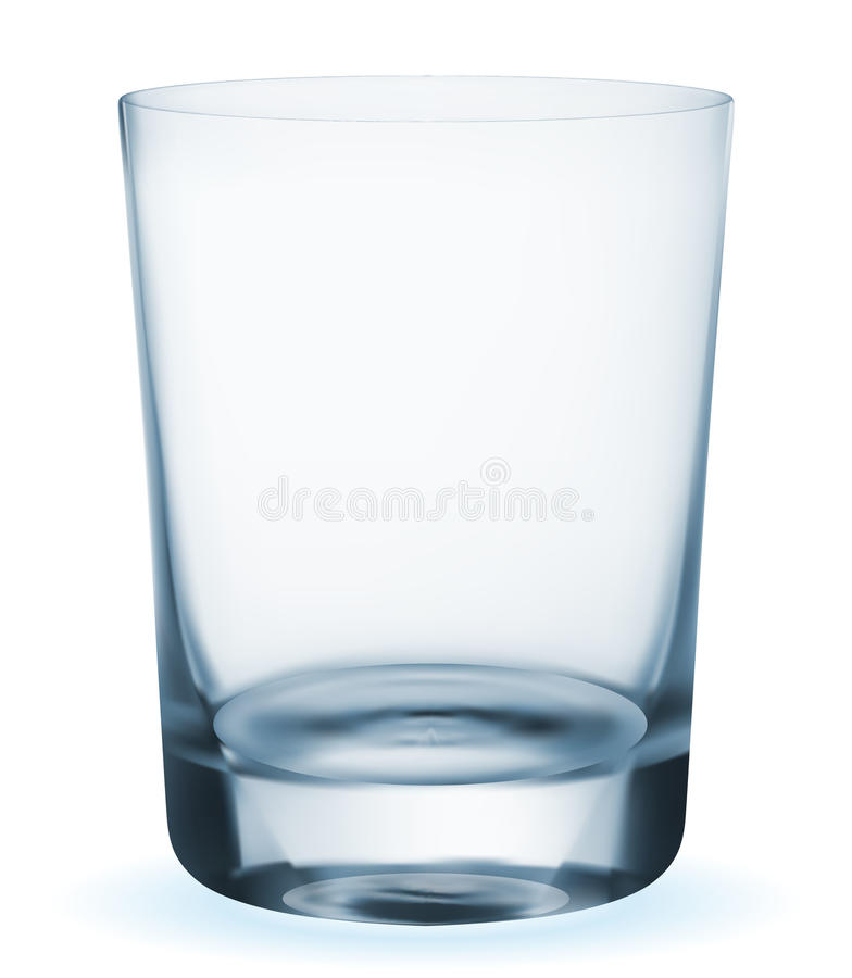 Glas vector illustratie