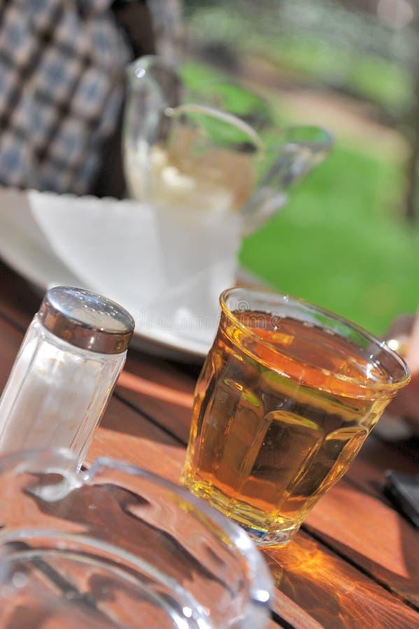 Glas Apfelsaft Stockbilder