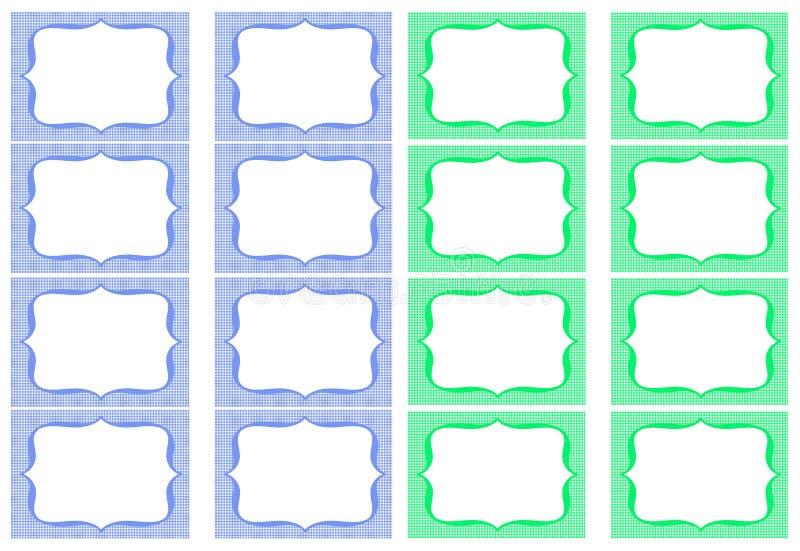 Glas-Aufkleber lizenzfreie abbildung