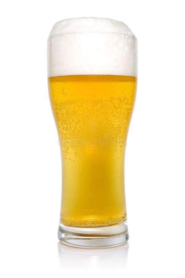 Glas Bier stockfoto