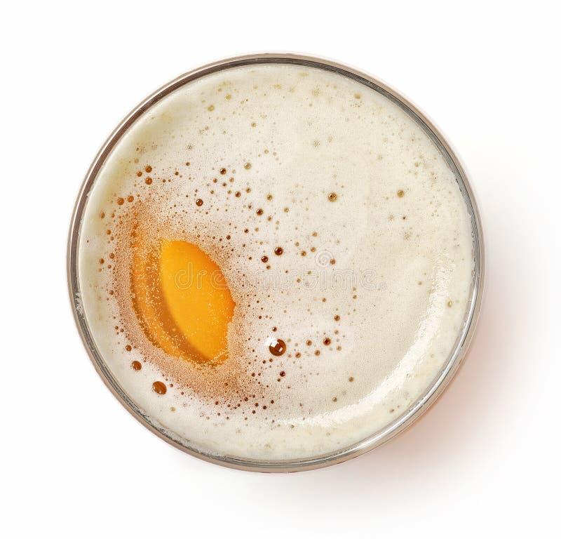 Glas Bier lizenzfreie stockbilder