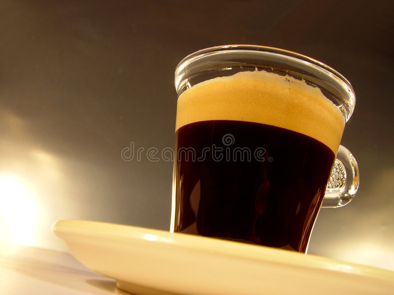 Download Glas of Coffee stock photo. Image of restaurant, drink, foam - 71028