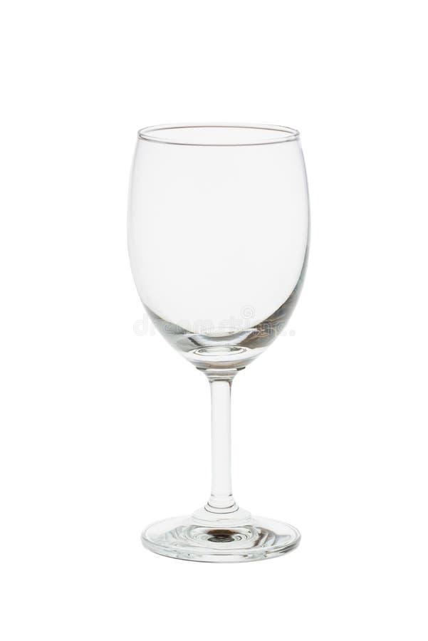 Glas del vino isolati su un fondo bianco fotografia stock libera da diritti