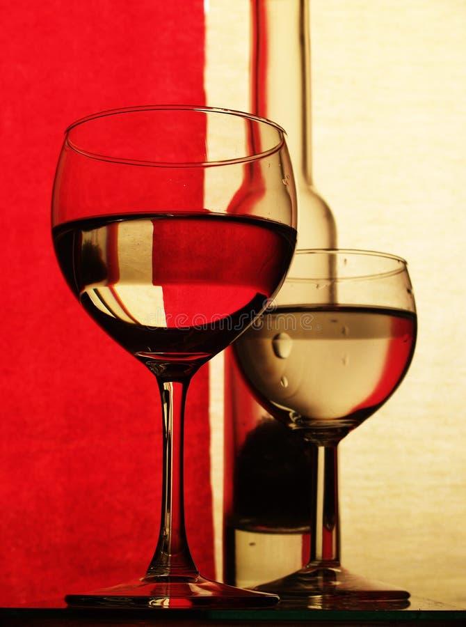 Glas in der Farbe lizenzfreie stockbilder