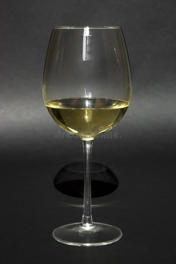 Glas des weißen Weins lizenzfreie stockfotografie