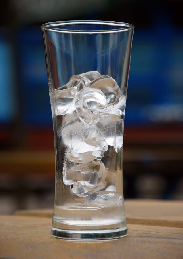 Glas Eis stockbild