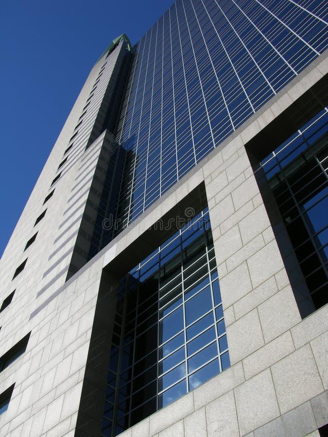Glas en Beton royalty-vrije stock foto
