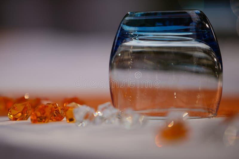 Glas en kristallen stock foto's