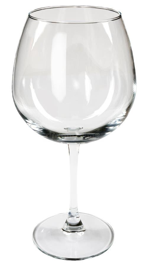 Glas für Wein lizenzfreie stockfotos