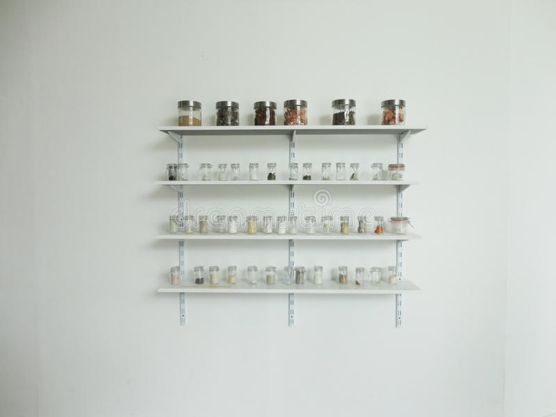 Glas-Gestell lizenzfreie stockbilder