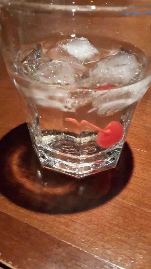 Glas jenever royalty-vrije stock foto
