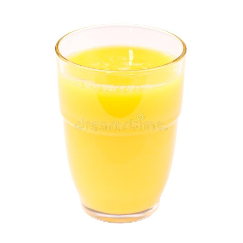 Glas Jus d'orange stock fotografie