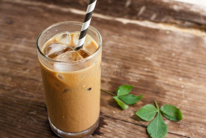 Glas kalter Kaffee stockbilder