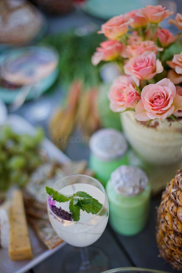Glas Limonade royalty-vrije stock afbeeldingen
