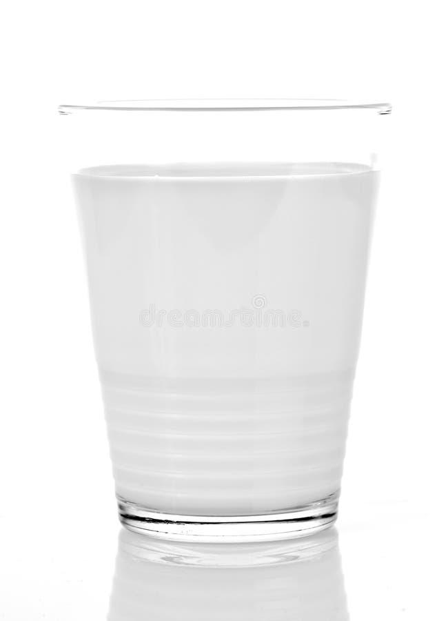 Glas melk royalty-vrije stock fotografie