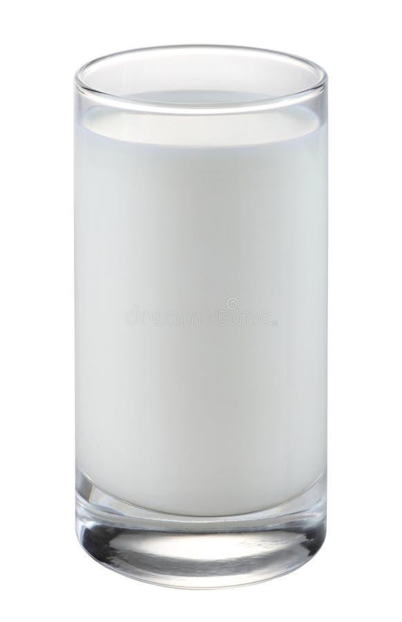 Glas melk royalty-vrije stock afbeelding
