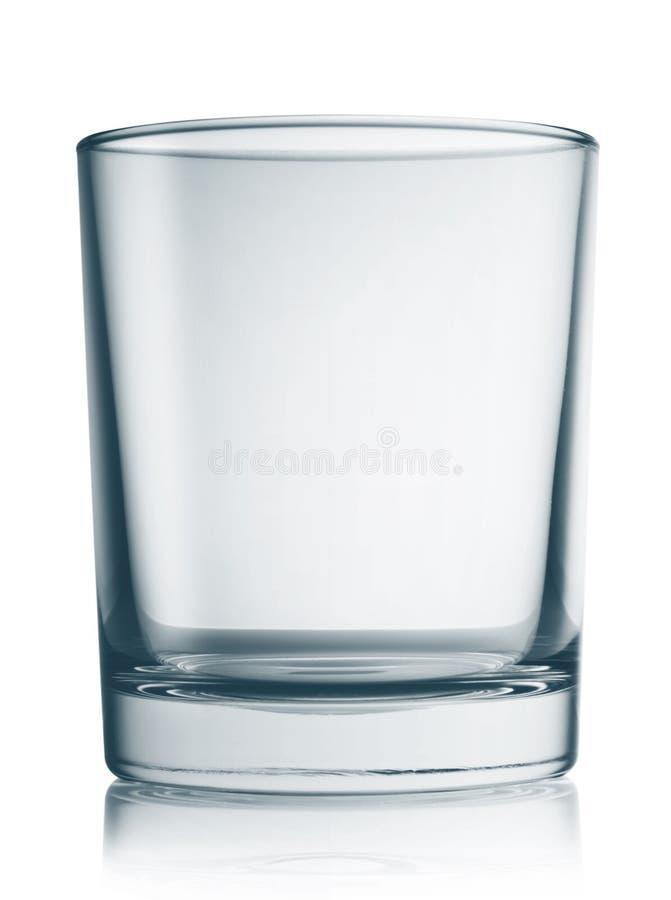 Glas met ronde bodem stock foto