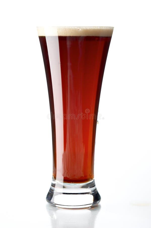 Glas mit Bier lizenzfreie stockfotografie