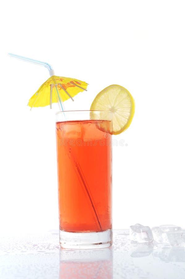 Glas mit Getränk stockbilder