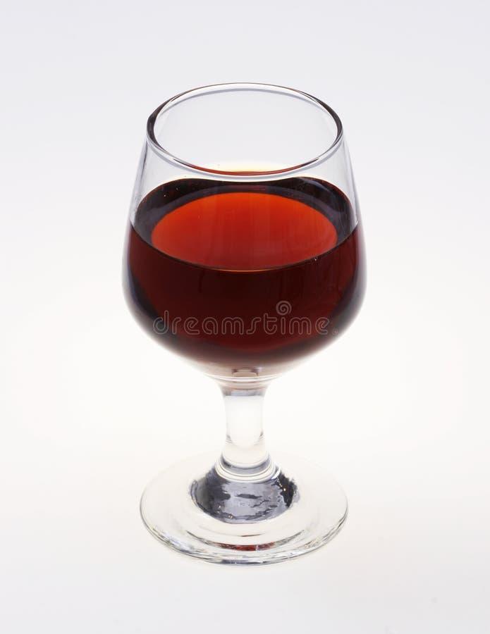 Glas mit Getränk stockfotografie