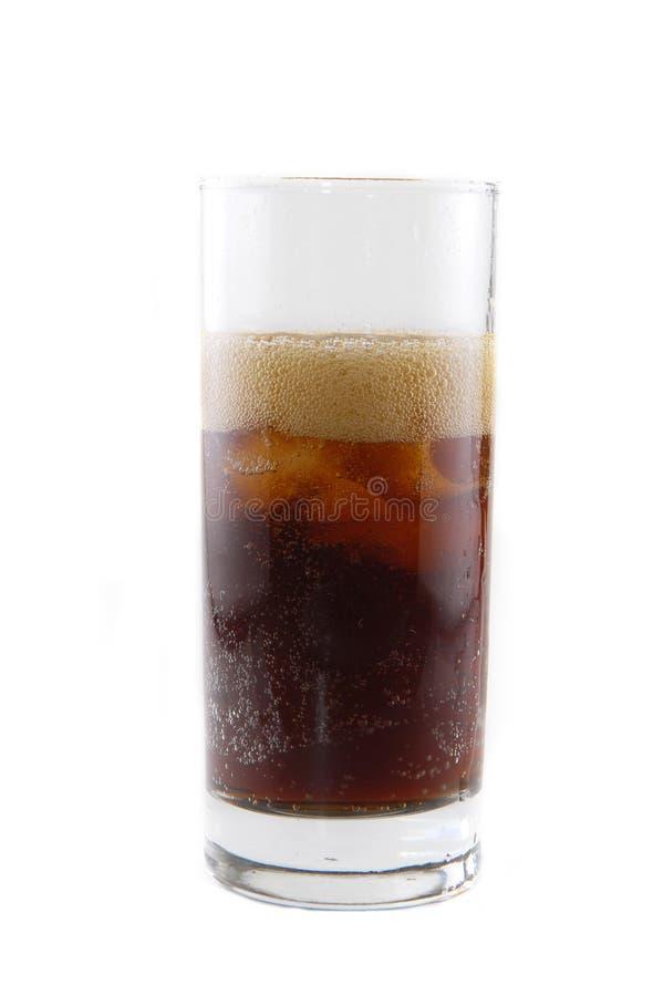 Glas mit Soda lizenzfreies stockbild