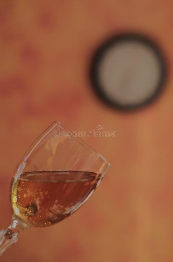 Glas mousserende wijn stock fotografie