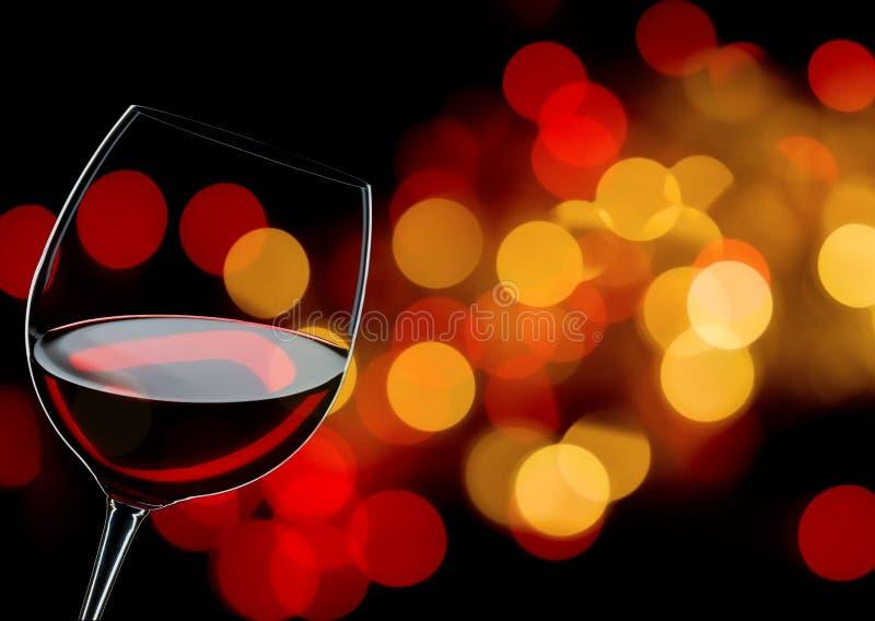 Glas Rotwein lizenzfreies stockfoto