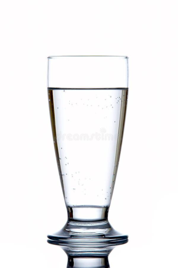 Glas Süßwasser stockfotografie