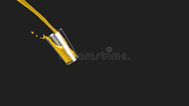 Glas sap royalty-vrije stock afbeeldingen